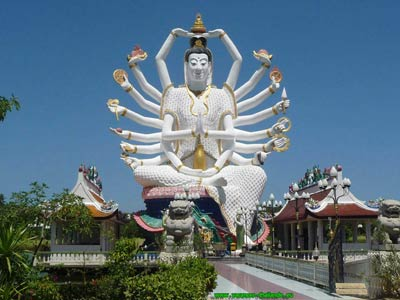 photo 19 English the very finest Buddhist goddess temples on Koh Samui 400